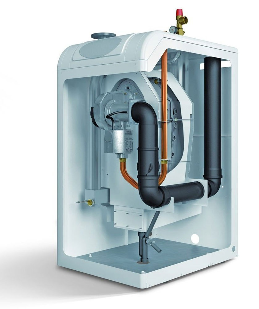 Boiler gas wall-mounted wall-mounted without electricity. Household ...